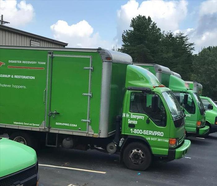 SERVPRO of North Atlanta/ Buckhead Commercial Large Loss Team Before