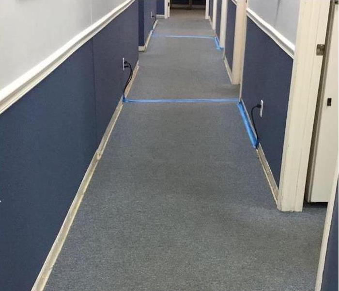Commercial Water Damage – Atlanta Medical Offices After