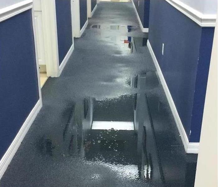 Commercial Water Damage – Atlanta Medical Offices Before