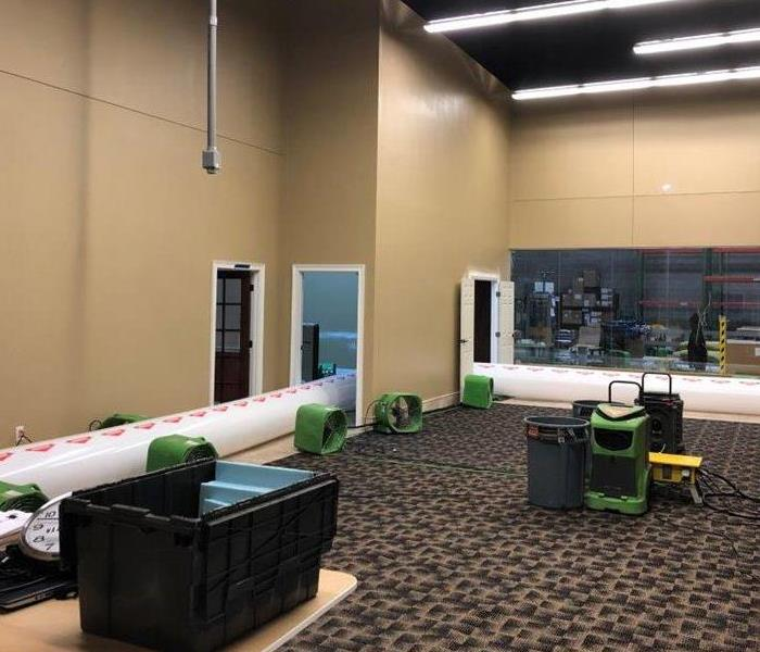 SERVPRO is the fastest to any large commercial water loss